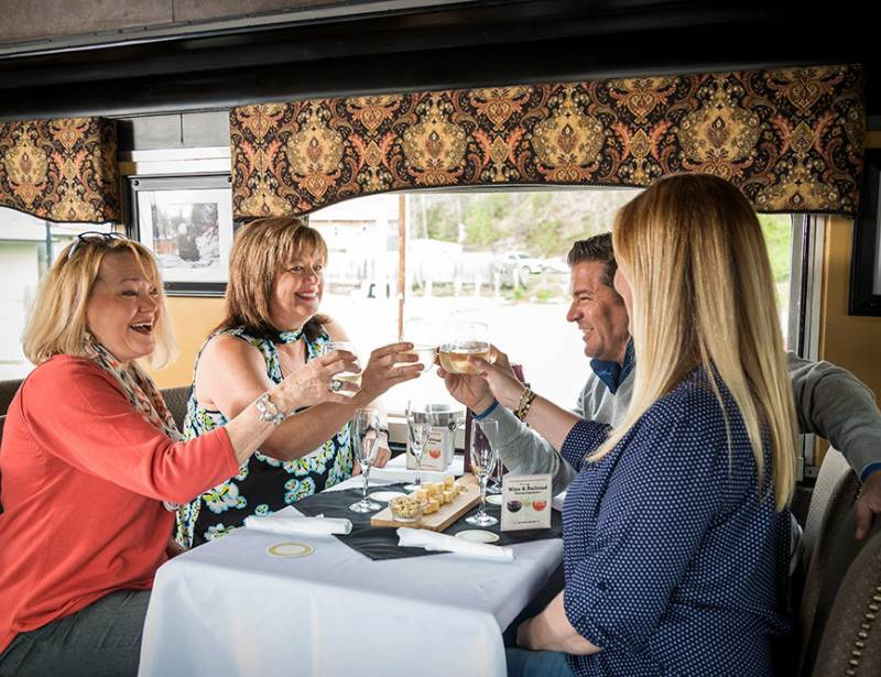 Uncorked Wine and Rail Pairing Experience